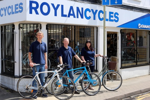 Gloucestershire Cycle shop